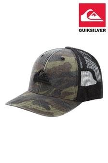 Quiksilver Green Grounder Trucker Cap