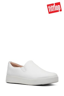 FitFlop White Rally Trainers