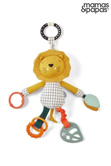 Mamas & Papas Wildly Activity Jangly Lion Toy