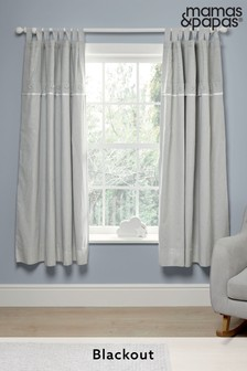 Mamas & Papas Welcome to the World Elephant Blackout Curtains
