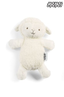 Mamas & Papas Welcome to the World Soft Lamb Beanie Toy