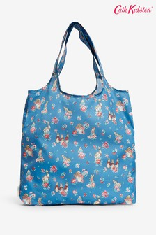 Cath Kidston Blue Beatrix Potter Ditsy Foldaway Shopper