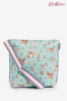 Cath Kidston Green Beatrix Potter Ditsy Zipped Bag