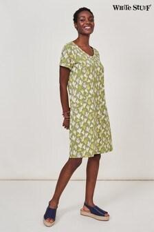 White Stuff Green Selina Fairtrade Dress