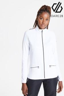 Dare 2B White Solaria Ii Full Zip Core Stretch Sweater