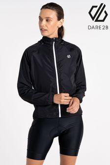 Dare 2B Black Rebound Lightweight Windshell Jacket