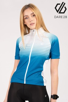 Dare 2B Blue Aep Propell Full Zip Cycling Jersey