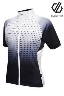 Dare 2B Black Aep Propell Full Zip Cycling Jersey