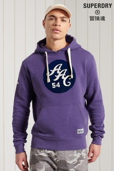 Superdry Athletic Association California Graphic Hoodie