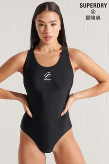 Superdry Sports Racer Swimsuit