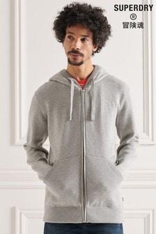 Superdry Essential Organic Cotton Zip Hoodie