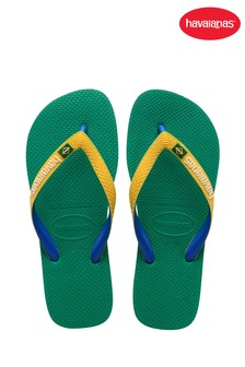 Havaianas Green Brasil Mix Flip Flops