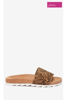 Joules Marlow One Strap Printed Sandals