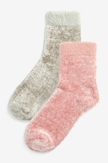 Supersoft Bed Socks 2 Pack