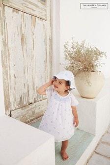 The White Company Eloise Printed Smocked Dress