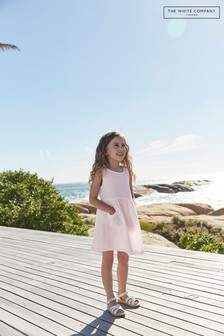 The White Company Crinkle Cotton Pinny Dress