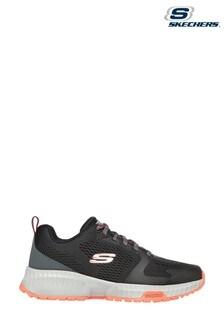 Skechers Black Skechers Street Flex Eliminator Sports Shoes