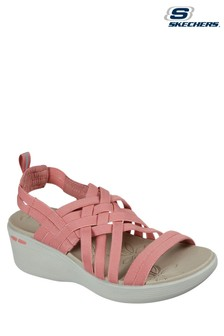 Skechers Orange Pier-Lite Summer Sandals
