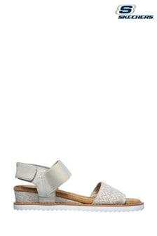 Skechers White Desert Kiss Sandals