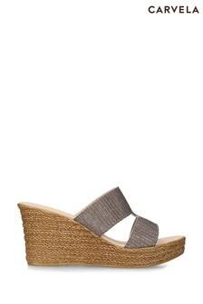 Carvela Gold Layer Sandals