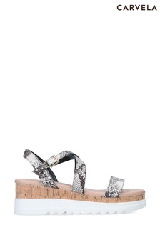 Carvela Cream Seize Sandals