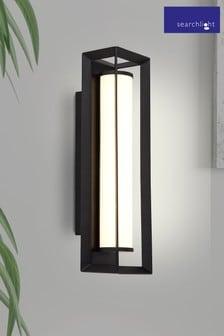 Searchlight Bowe Rectangular LED Wall Light