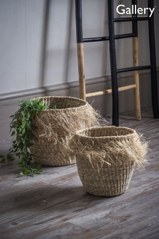 Set of 2 Gallery Direct Lolito Natural Baskets