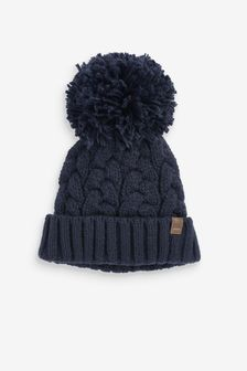 Pom Beanie Hat (1-16yrs)
