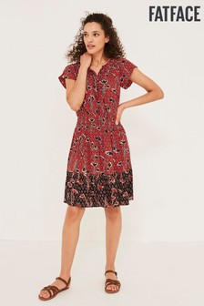 FatFace Mika Pressed Flowers Dress