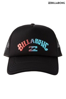 Billabong Black Podium Trucker Cap