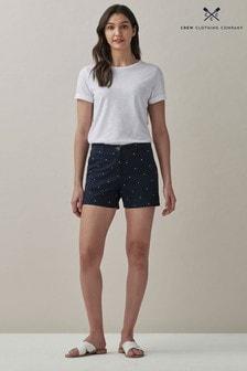 Crew Clothing Company Blue Pembroke Shorts