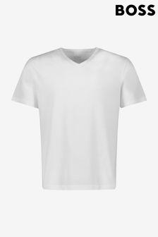 BOSS White Boss V-Neck T-Shirts 3 Pack