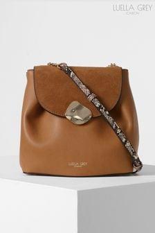 Luella Grey London Cleo Molten Clasp Crossbody Handbag
