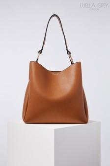 Luella Grey London Isadora Printed Handle Hobo Bag