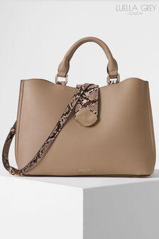 Luella Grey London Ava Molten Clasp Multi Compartment Tote Bag