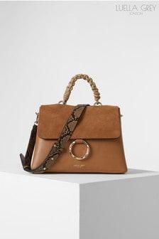 Luella Grey London India Rope Top Handle Cross Body Handbag
