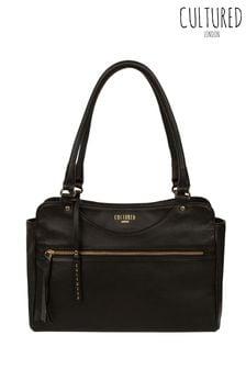 Cultured London Shadwell Leather Handbag