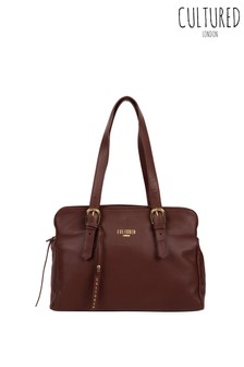 Cultured London Beckenham Leather Handbag