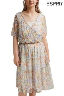Esprit Curvey Mesh Dress
