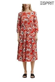 Esprit Long Floral Dress