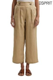 Esprit Womens Linen Culottes