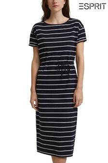 Esprit Womens Stripe Dress