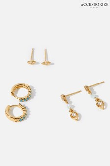 Accessorize Mixed Earrings Set