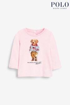 Ralph Lauren Pink Bear T-Shirt