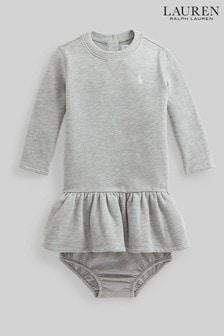 Ralph Lauren Grey Logo Dress