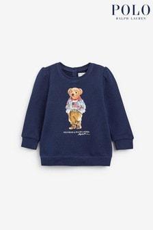 Ralph Lauren Navy Bear Sweatshirt