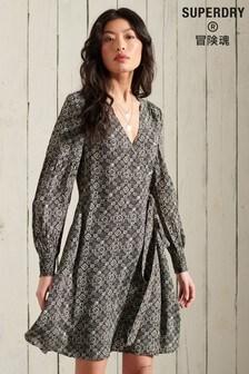 Superdry Bohemian Wrap Dress
