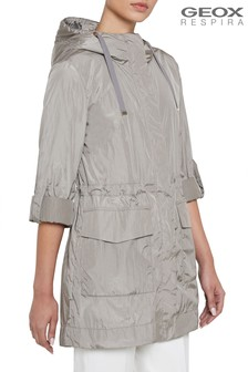 Geox Womens Topazio Concrete Grey Jacket
