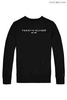 Tommy Hilfiger Black Esssential Sweatshirt