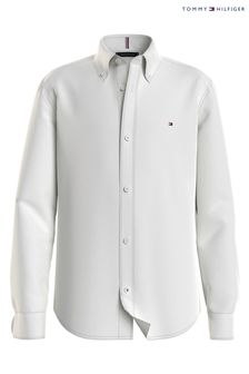 Tommy Hilfiger White Stretch Oxford Shirt
